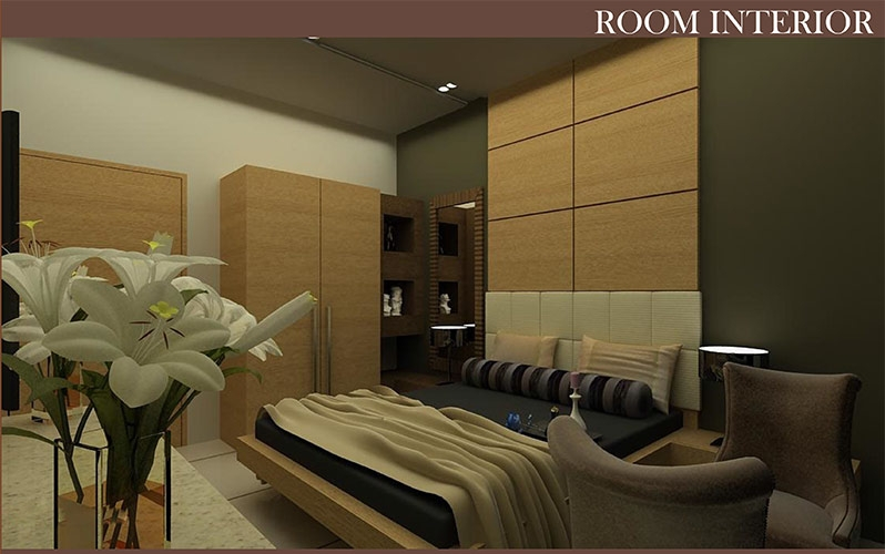 16 Rooms Holiday Home Bedroom
