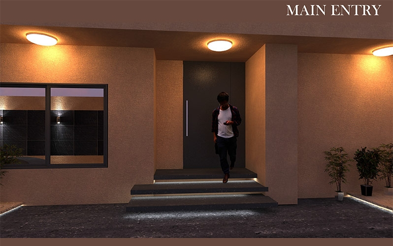 16 Rooms Holiday Home Main Entry