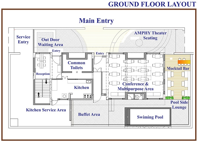 16 Rooms Holiday Home Floor Plan-1