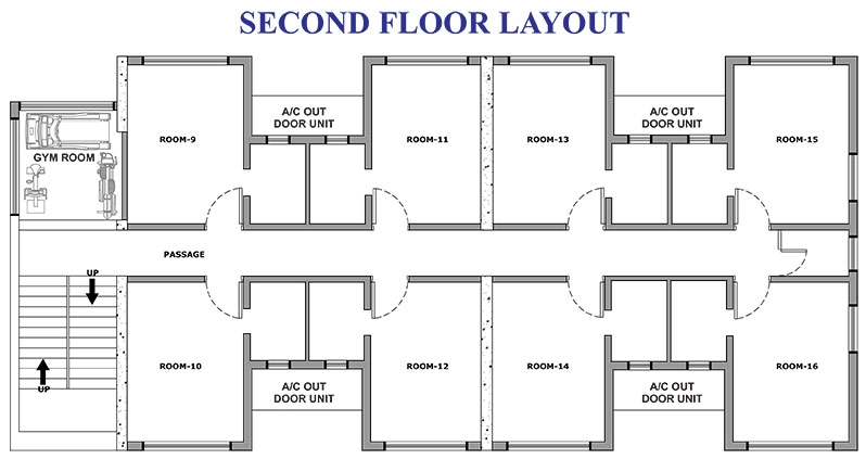 16 Rooms Holiday Home Floor Plan-2