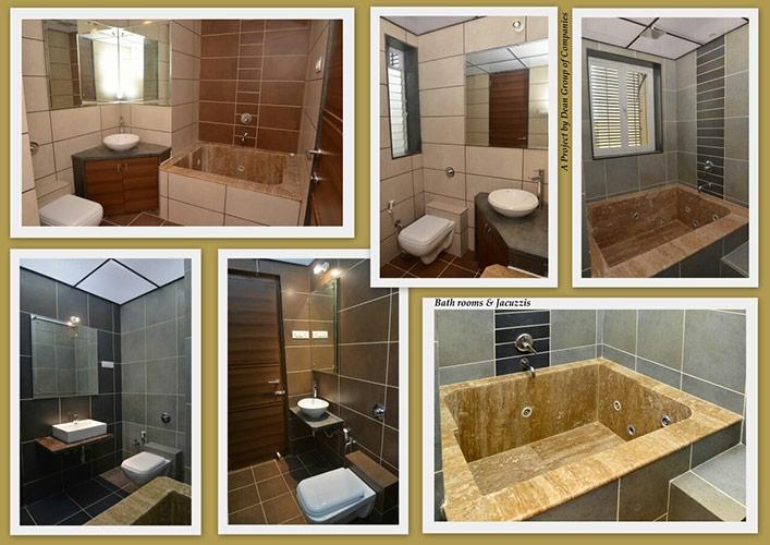 Deans Executive Villas Bathroom
