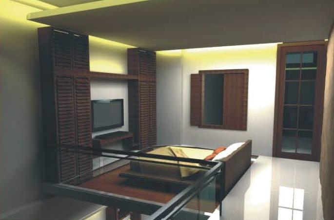 Deans Executive Villas Bedroom