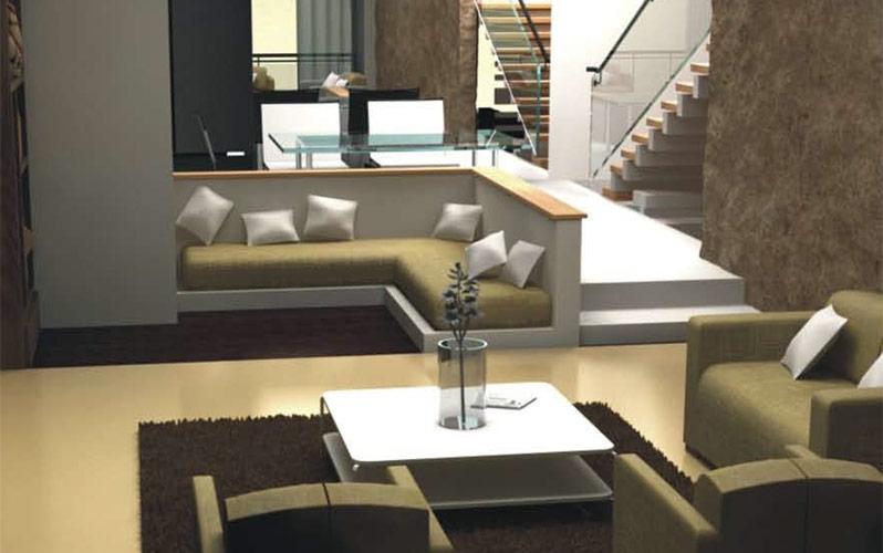 Deans Executive Villas Living Area