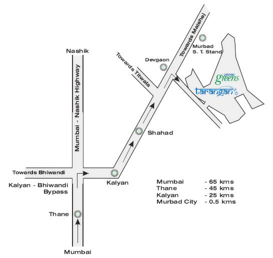 Location of Tarangan