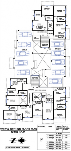 Floor Plan - F Wing 2