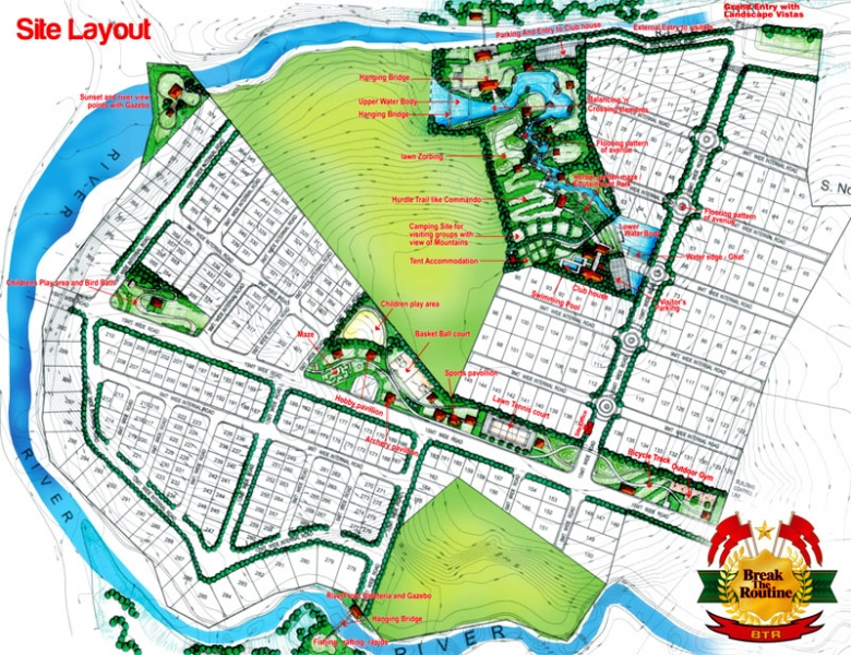 Site Area Map