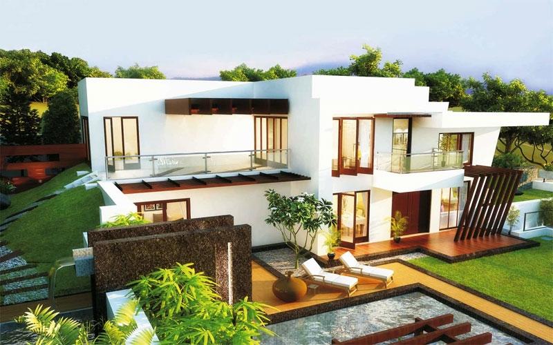 Divine Villa - Front View