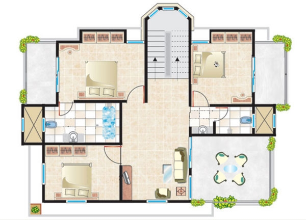 Cosmos Hawaiian Floor Plan