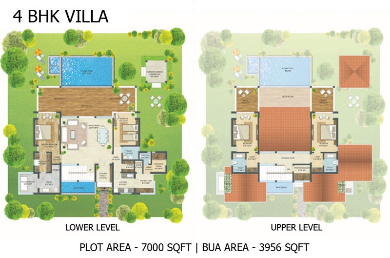 Escape Village 4BHK Villa