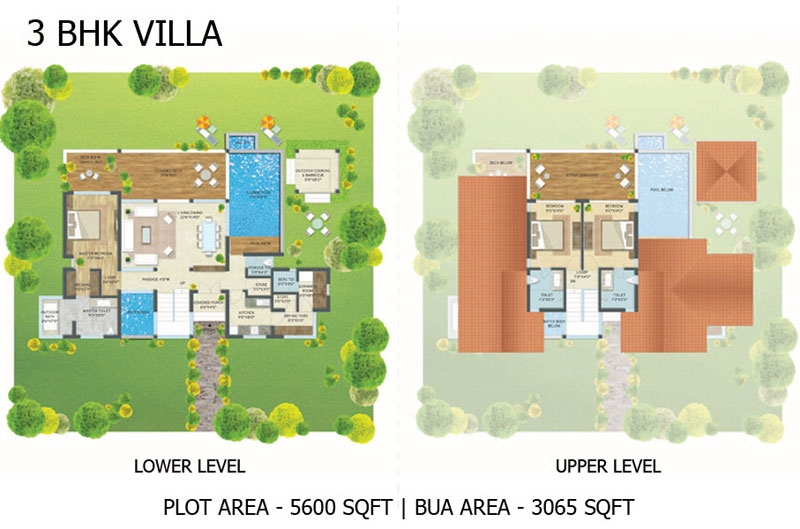 Escape Village 3BHK Villa