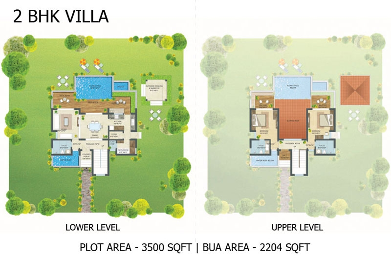 Escape Village 2BHK Villa