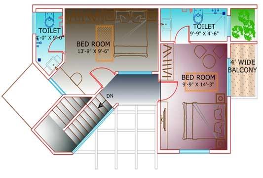 Floor Plan of Villa C