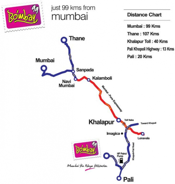 Bombay99 Location Map